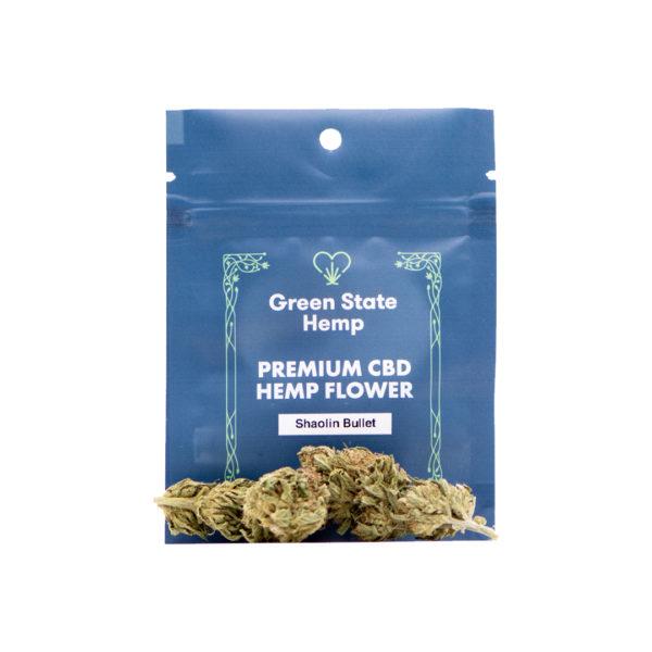 Outdoor Hemp Flower (3.5 grams) - Shaolin Bullet